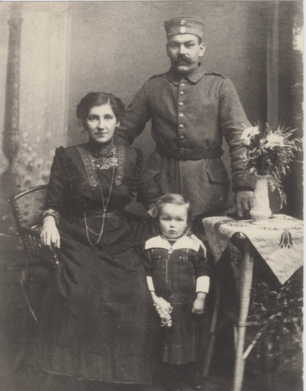 Urgroßmutter Familienbild