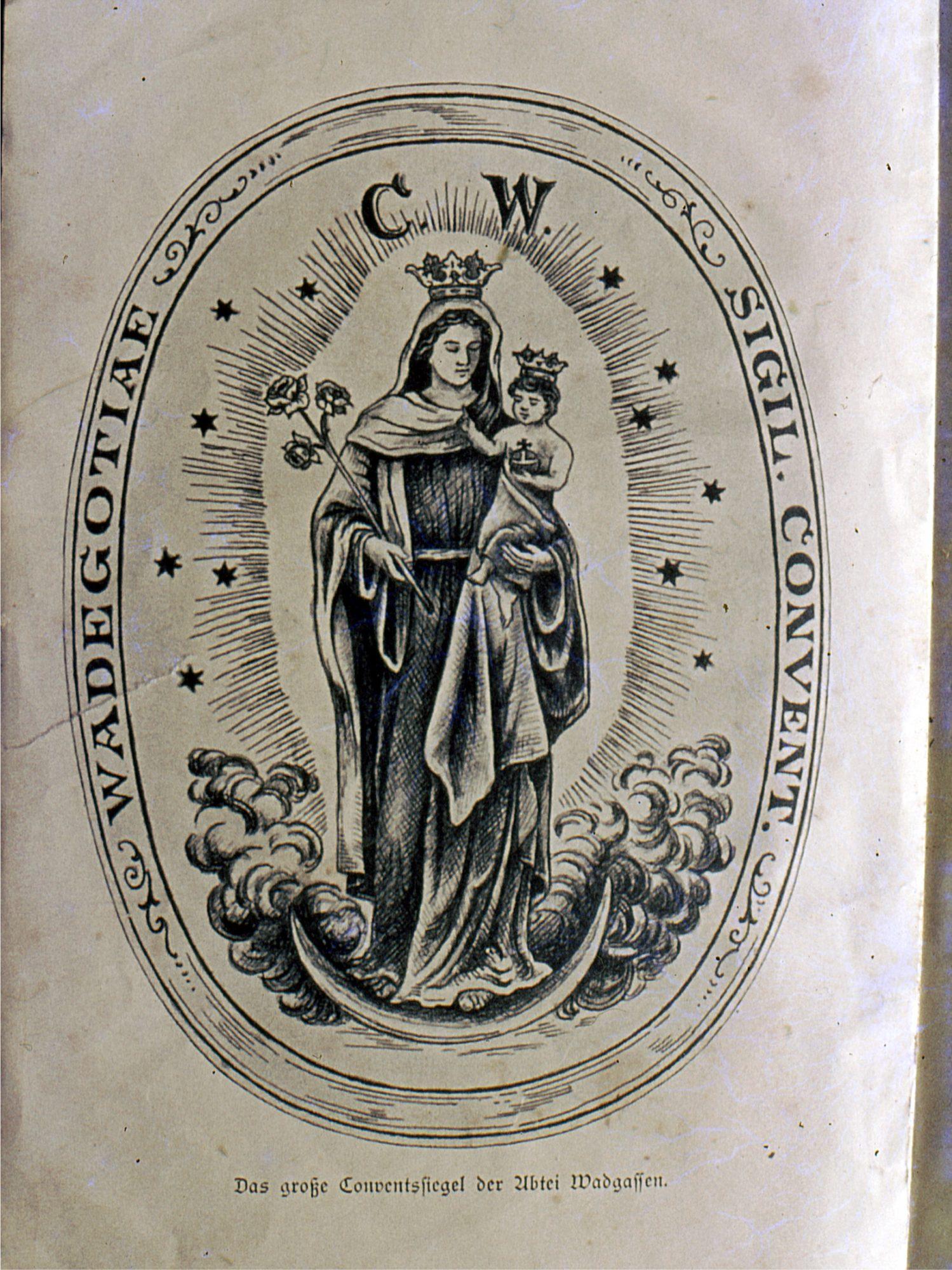 Wappen Kloster Wadgassen