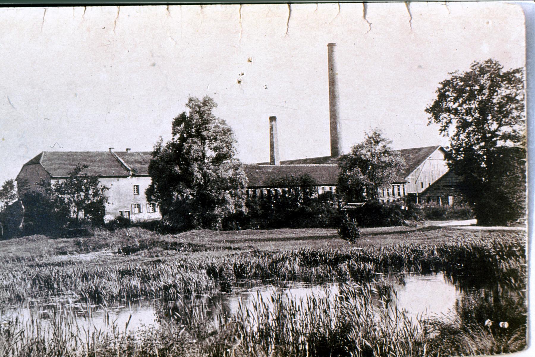 Ziegelfabrik am heutigen Flughafen