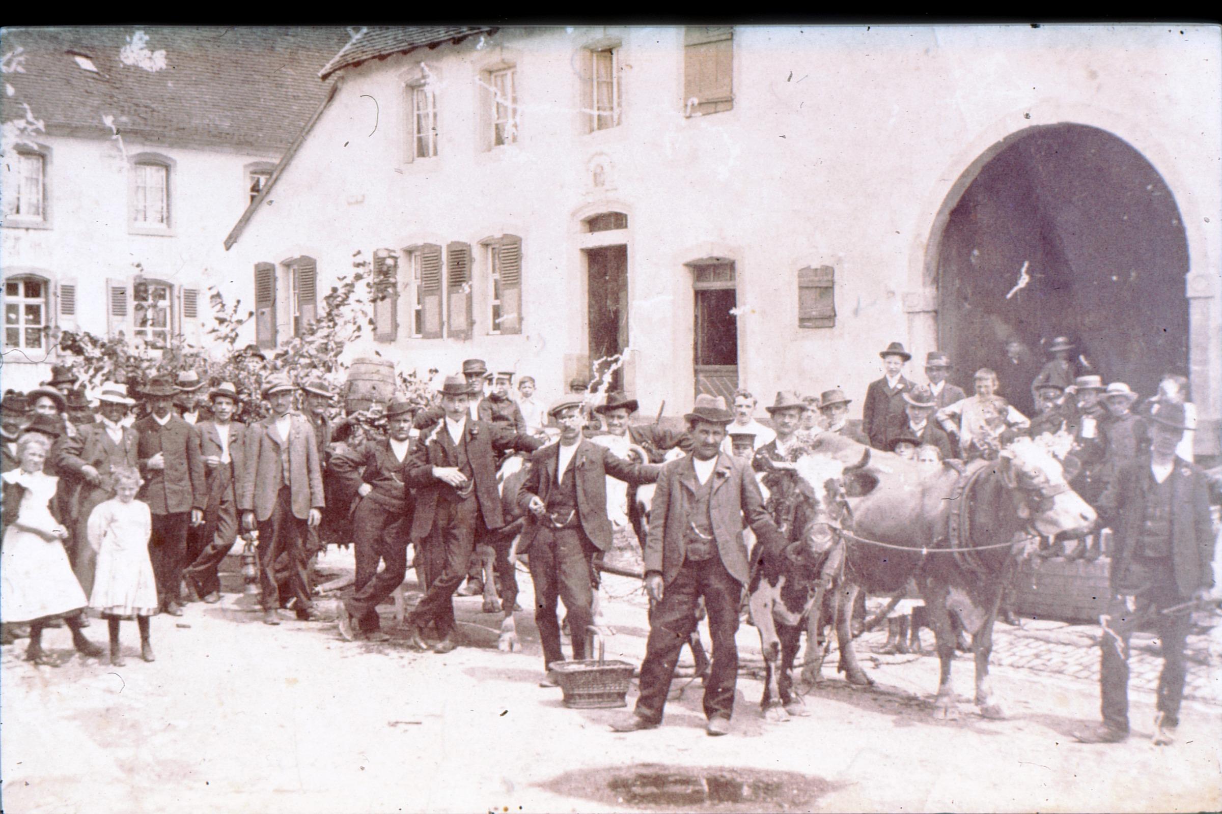 Einweihung Matzebrunnen 1913