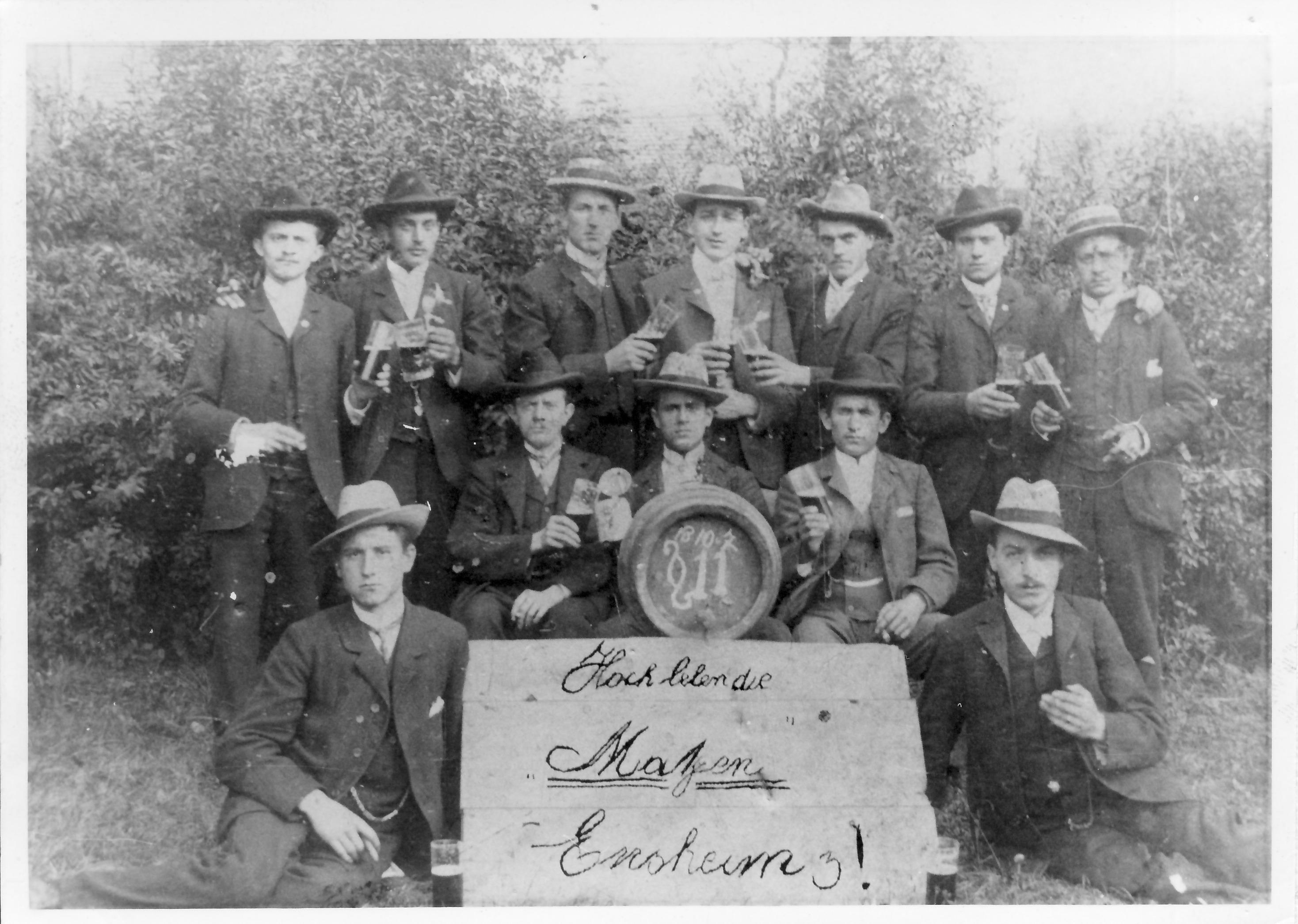 Die Matzen 1907