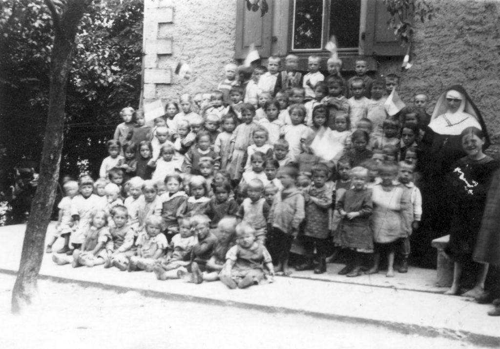 Klassenfoto Vereinshaus