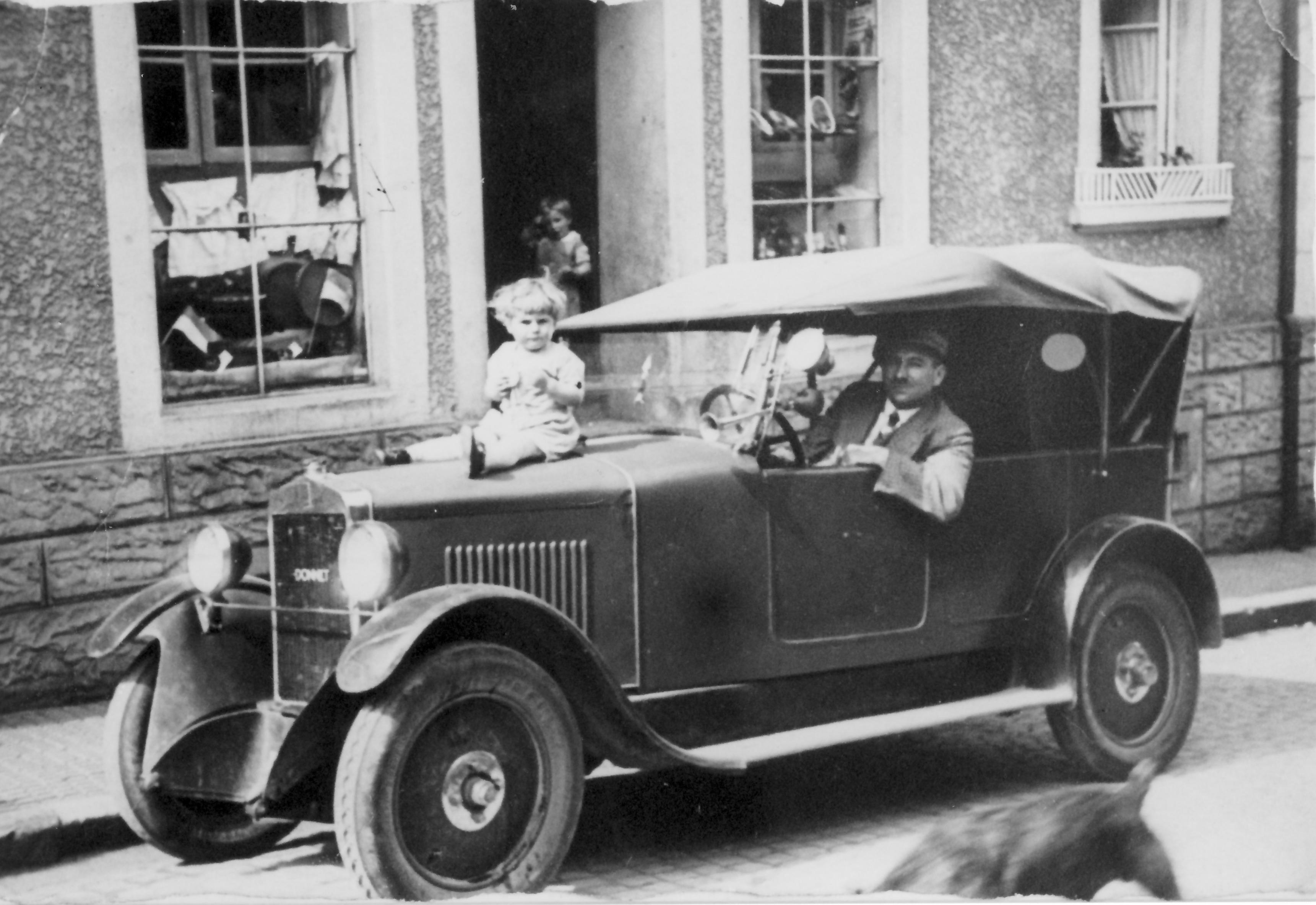 Tuwwagsbreiersch Automobil ca. 1930